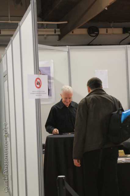 Anthony Daniels @ Paris Comic Expo 2014