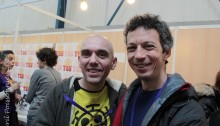 Eric Chahi et Davy Mourier