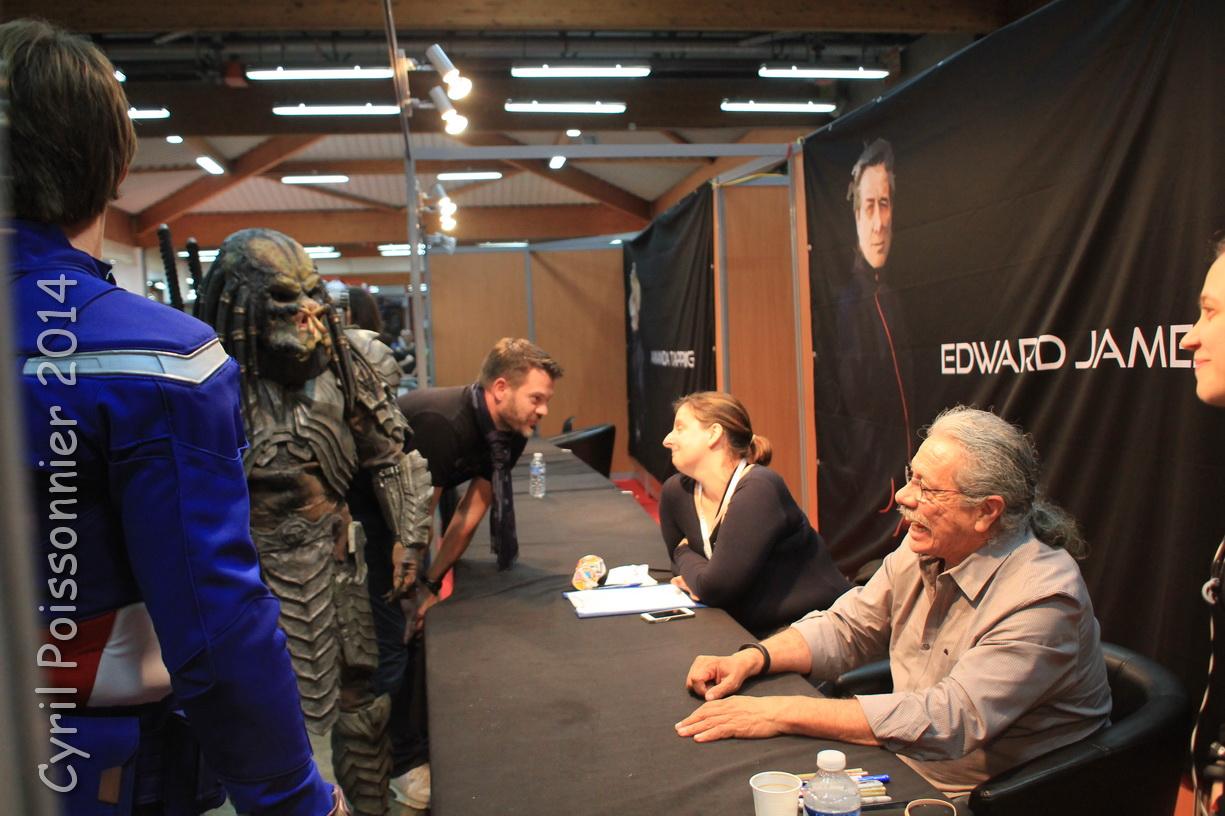 TGS 2014 Edward James Olmos FX Predator